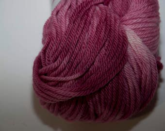 Hand-Dyed Cherry Blossom Colourway DK Yarn Merino Squishy Base