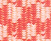 Tucker Prairie Fabric // Red Flying Geese // 1canoe2 // cotton quilting