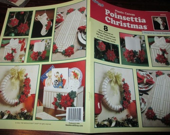 Holiday Plastic Canvas Patterns Poinsettia Christmas Needlecraft Shop 843432 Plastic Canvas Pattern