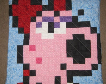 Birdo Quilted Pillow Cover - Free USA Shipping