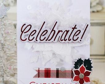 Celebrate...Handmade Card