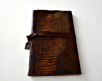 Large Brown Leather Journal
