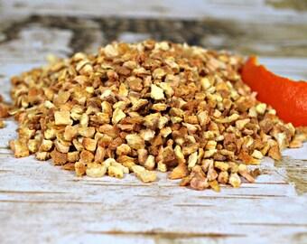 Organic Dried Orange Peel - Herbal Teas - Sweet Orange Peel - Certified Organic - Herbs - Spices - Craft Supplies - Bath and Beauty Supplies