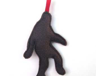 Sasquatch Christmas Ornament // Bigfoot for Your Christmas Tree from the Pacific Northwest
