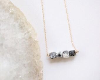 Dendrite Opal 14k Gold Chain