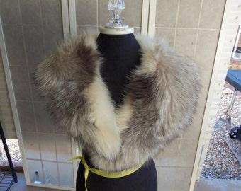 Vintage mid century Fur Collar