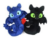 Toothless Night Fury Plush Dragon Stuffed Animal