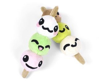 Dango Skewered Dumplings Japanese Snack Food Plush Toy