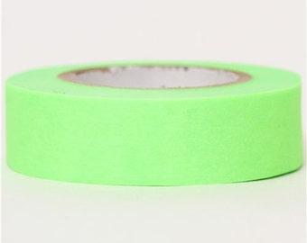 174383 mt Washi Masking Tape deco tape green