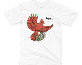 Peace Ohio - Men's Short Sleeve T-Shirt - sizes Small to 2XL