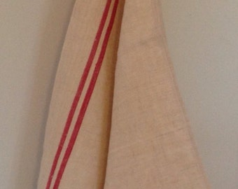 New Old Stock! Antique French Linen Metis Dish Towels