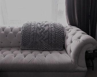 Luxury Handknit Throw