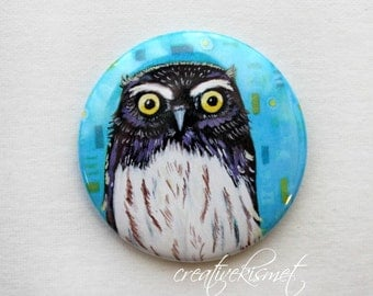 Little Owl - Pocket Mirror