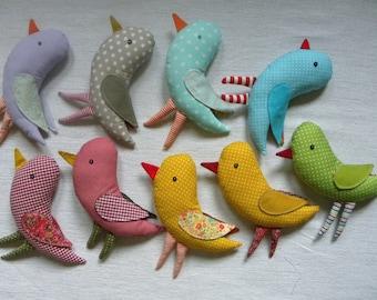 Bird   cotton fabric