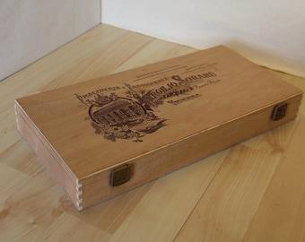 Wood Cigar Box - Virgilio Soraru 24