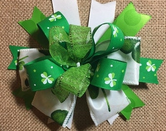 St. Patrick's Day Hair Bow!