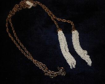Vintage Dangle Chains Necklace