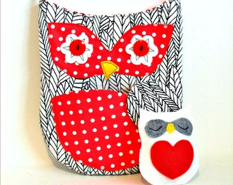 kids purse owl purse cross body bag