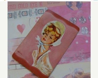 ON SALE Antique Kitsch Sweet Chic Lady