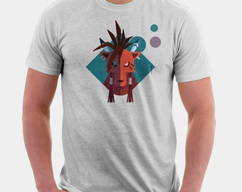Final Fantasy 7 T Shirt - Red XIII Shirt | T-shirt for Women Men | Video Game Shirt | Final Fantasy VII | Final Fantasy Tshirt | graphic tee