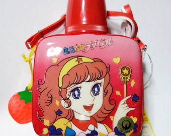 Magical Girl Lalabel - 80's vintage plastic water bottle