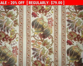 Antique French Fabric Cotton Fruit