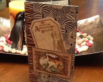 Waterfall Folio Album, Mini Photo Album, Scrapbook Mini Album