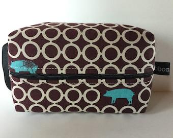 Small Boxy Cosmetic Bag