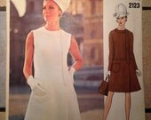 Vogue Couturier Design 2123 Size 12 Dress Pattern