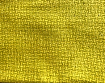 1/2 yard of premium green flannel fabric. (135FH)