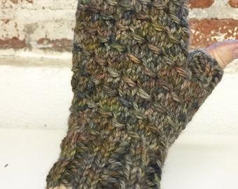 Soft, Warm Fingerless Mitts