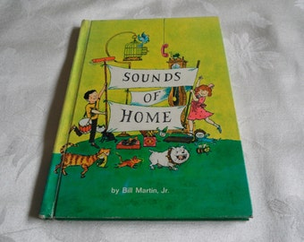 Sounds Of Home By Bill Martin Jr Hardcover 1966
