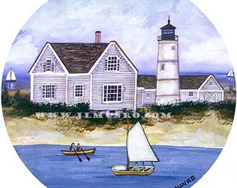 Sailors Valentine Center, ART for Designers Crafters ~ Sandy Neck ~ JL. Munro