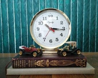 Equity Alarm Clock Mechanical Wind Vintage