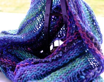 Cowls and circular wrap-around scarves to keep you comfortable