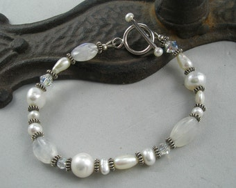 It Is All About White Bracelet