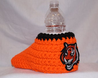 Ready to ship - Cincinnati Bengals Drink Mitt  - The mitten with the drink holder
