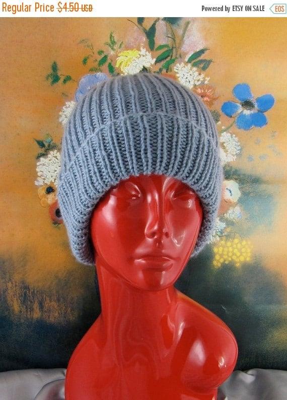 HALF PRICE SALE Instant Digital File pdf download knitting pattern - Simple Unisex Ski Beanie  Hat pdf download knitting pattern - Madmonkey