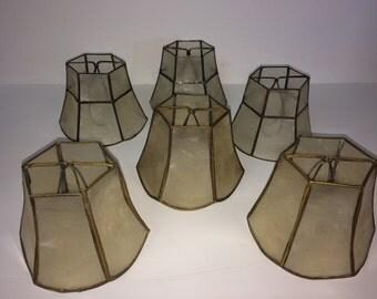 Shell Lamp Shade Etsy