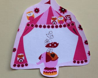 One Big Top Fabric Iron On Applique