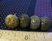Knights Templar Masonic Buttons In Hoc Signo Vinces York Rite of Masonic Order Late 1800s M C Lilley and Co One Has Prongs Read Details