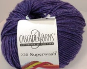 Cascade, Superwash, Wool, Worsted, Heather Purple, 1948