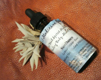 Sundance - Connecting to the Divine Masculine - 2oz Spirit Medicine Essence. Flower Essence, Crystal Essence, Herbal Remedy, Bath & Beauty
