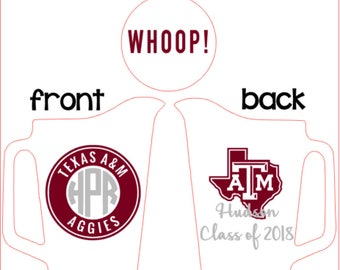 Aggie, ring, dunk, pitcher, guy, custom, personalized, monogram, Texas A&M, beer, maroon, silver