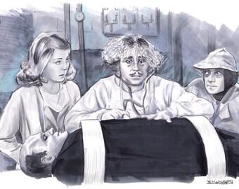 Young Frankenstein Print