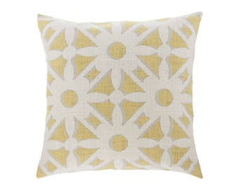 NEUTRAL Gold Pillow Cover.Decorator Pillow Cover.Home Decor.Large Print. NOLA BARLEY. Cushions. Cushion.Pillow. Premier Prints