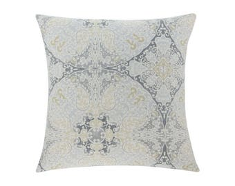NEUTRAL Grey Pillow Cover.Decorator Pillow Cover.Home Decor.Large Print. GALILEO SAND. Cushions. Cushion.Pillow. Premier Prints