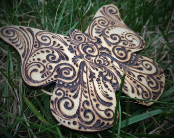 Harbinger of Spring - Butterfly Lapel Pin - One of a Kind