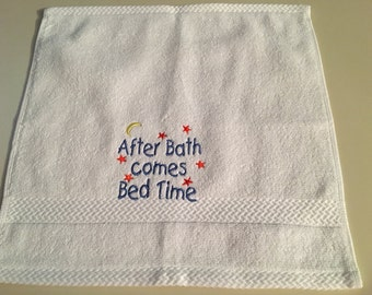 Washcloth/Decorated/Baby/Bathtime