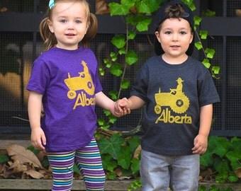 Lil' Ole Alberta Tractor T-Shirt